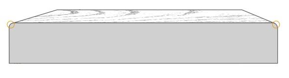 Deska elewacyjna S4S cedr kanadyjski