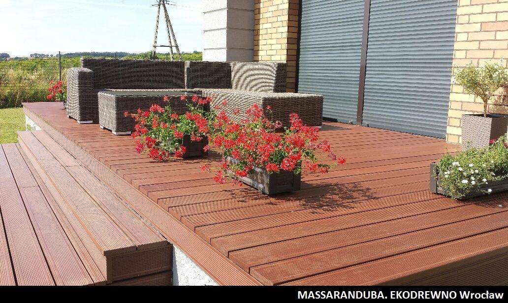 Deska tarasowa egzotyczna massaranduba ekodrewno wrocław