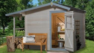 Domki i sauny ogrodowe, domki narzędziowe, pergole drewniane.