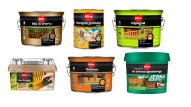 Sprawdź również naszą ofertę na farby, oleje i impregnaty do drewna