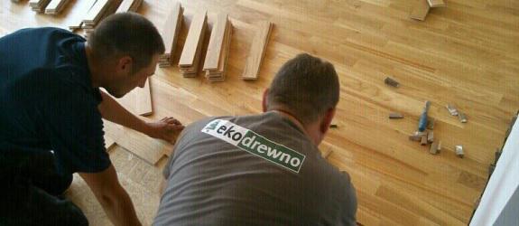Podłogi i parkiety drewniane
