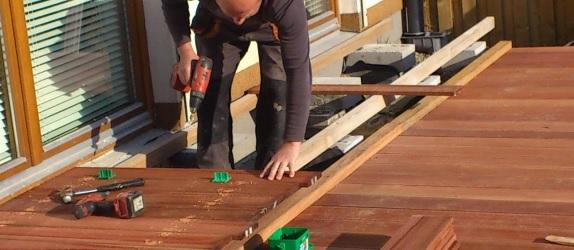 Tarasy drewniane i kompozytowe
