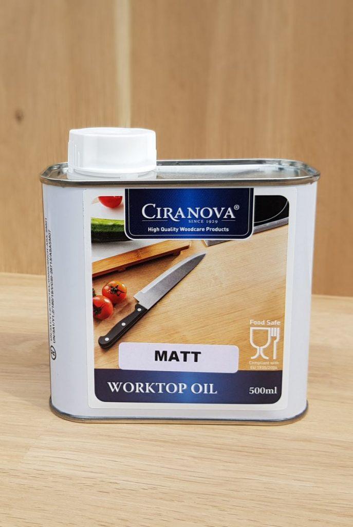 Worktopoil olej do blatów kuchennych matt 8774