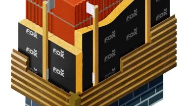 System montażu elewacji wentylowanych Fox System