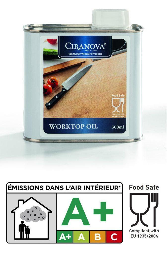 Olej do blatów worktopoil ciranova