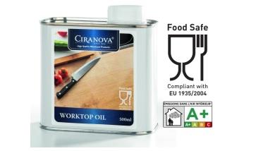 Olej do blatów kuchennych i mebli, do kontaktu z żywnością
