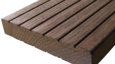 Przejdź do oferty na deskę tarasową z drewna termojesion.
