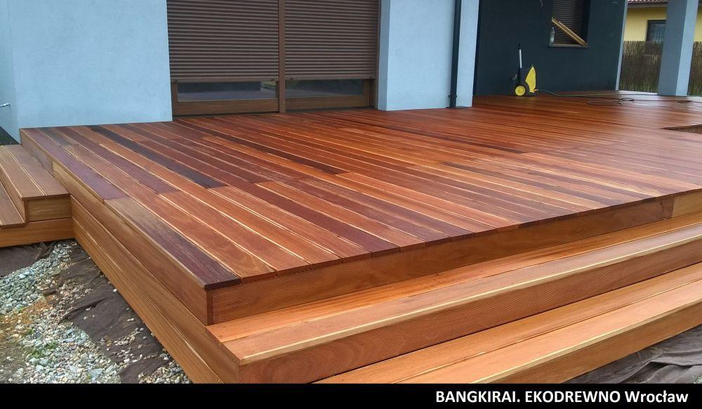 Deska tarasowa egzotyczna bangkirai ekodrewno wrocław