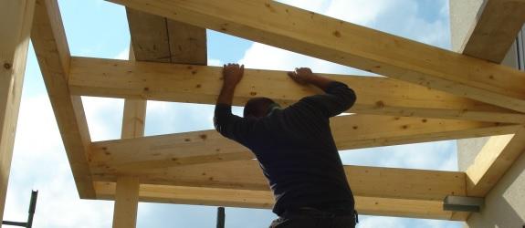Pergole i małe konstrukcje drewniane