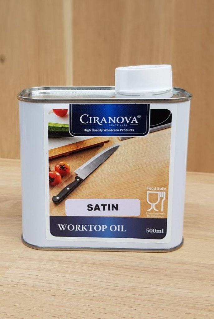 Worktopoil olej do blatów kuchennych satin 8803